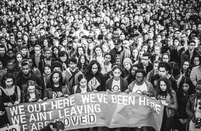 March of Resilience at Yale University, November 9th, 2015. Courtesy of Philipp Amdt Photography